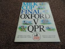 1986 Final - Oxford United v Queens Park Rangers